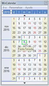Resultado de imagen de calendario 2016 colombia para imprimir con festivos