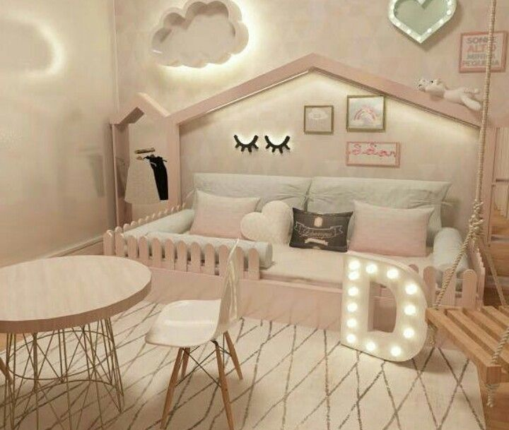 Indie's big girl room one day