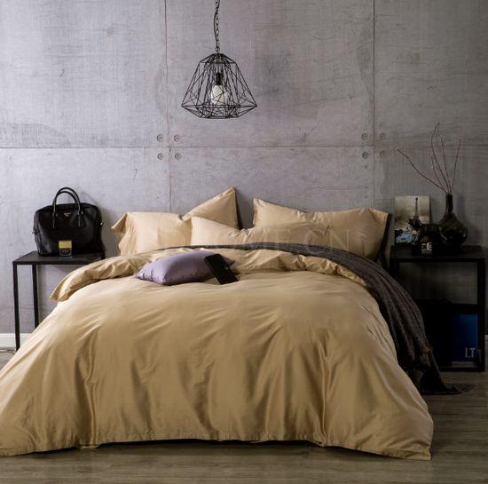 床品套件 60支长绒棉 活性染色 水咖 四件套