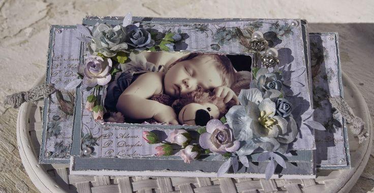 Mitt Lille Papirverksted: Sove på en seng av Blomster