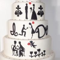 Love story wedding cake: Wedding, White Wedding, Wedding Ideas, Wedding Stuff, Cake Ideas, Wedding Cakes, Dream Wedding, Love Story Wedding