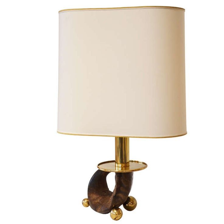 Table Lamp by Gabriella Crespi | From a unique collection of antique and modern table lamps at https://www.1stdibs.com/furniture/lighting/table-lamps/