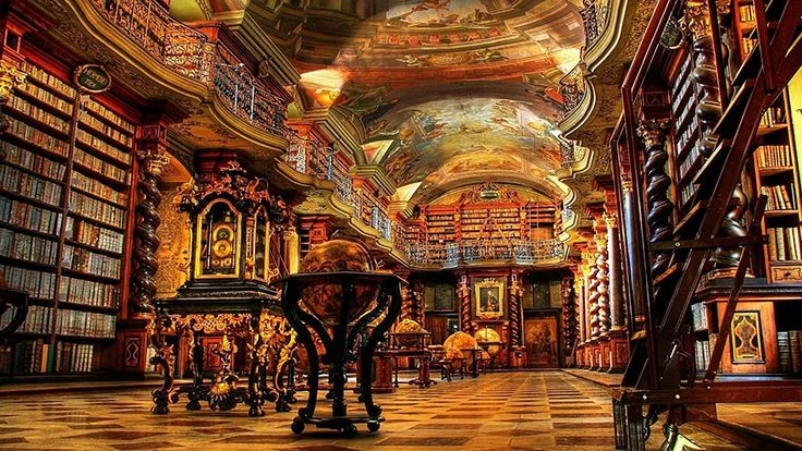 The National Library Of Prague, Prague, Czech Republic  50 Of The Most Majestic Libraries In The World