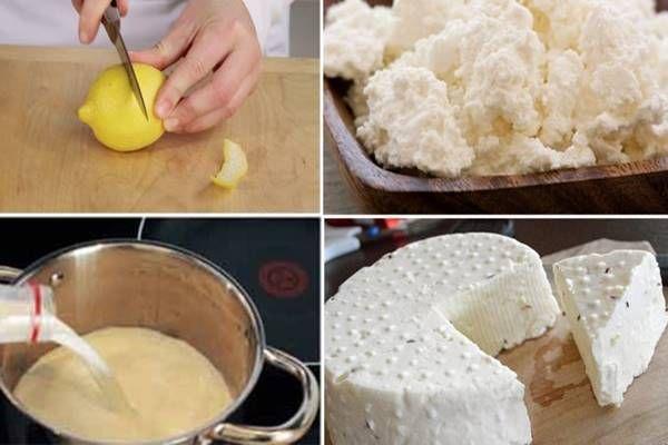 Tej, joghurt, citrom... ebből készül a világ legfinomabb házi sajtja, ami neked is kedvenced lesz!