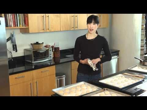 my favorite macaron tutorial for the basic macaron. i get perfect macarons every time i make them while watching :)