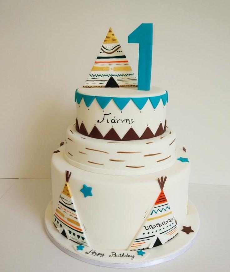Tepee - Cake by nef_cake_deco