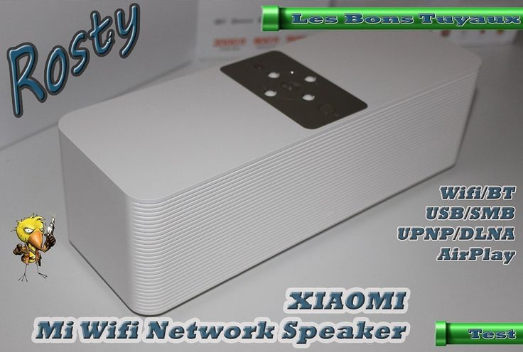 [TEST] Enceinte Réseau Xiaomi Mi Wifi Smart Network Speaker (DLNA AirPlay SMB) http://ift.tt/2nyozbN Bon Plan - Rosty Les Bons Tuyaux