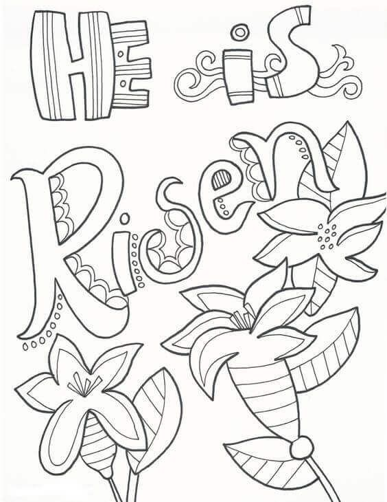 Printable Easter Coloring Pages Easter Coloring Pages Easter
