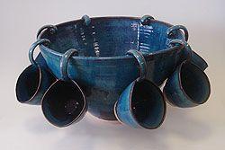 Wheel thrown pottery