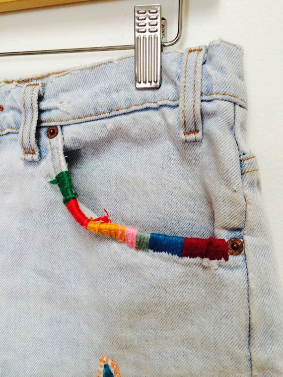 embroidered pockets                                                                                                                                                                                 More