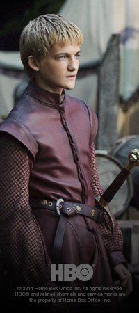 Game Of Thrones- Prince Joffrey Baratheon. Yes, he is fictional. Yes, I still want to slap his face right off his face.