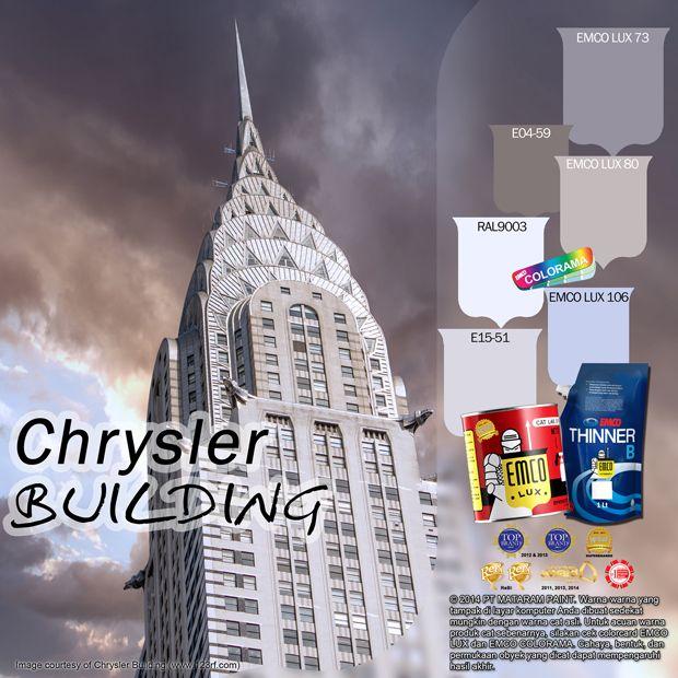 Chrysler Building #nyc #chrysler #building #color #likeforlike http://matarampaint.com/detailNews.php?n=390