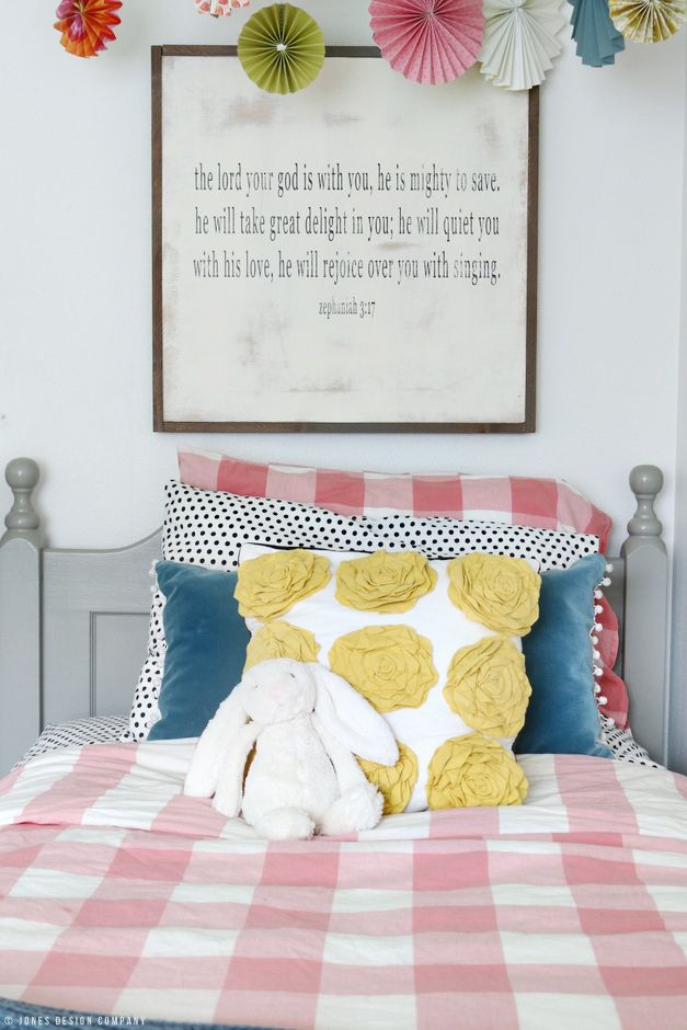 A Classically Cute Little Girl's Bedroom Makeover (it's Audrey's and it's finally done)