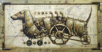 Steam engine Dachshund!!!