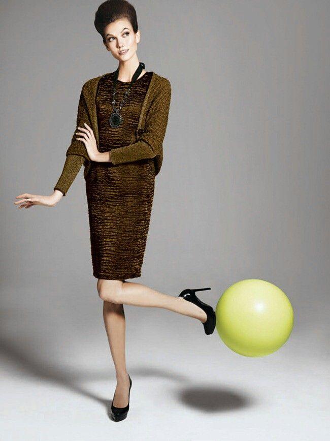 Karlie Kloss & Sean O'Pry On The Ball for Neiman Marcus The Christmas Book Holiday 2012