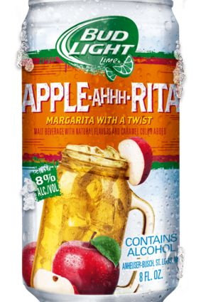 Product Launch - US: Anheuser-Busch InBev's Bud Light Apple-Ahhh-Rita