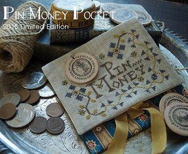 Summer House Stitche Workes ~ Pin Money Pocket Kit