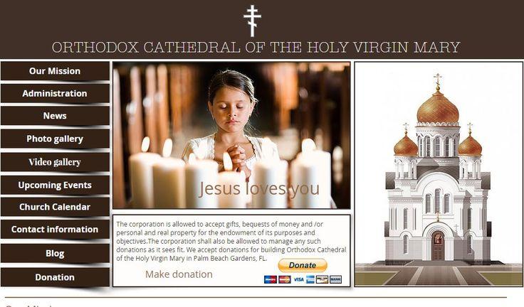 В скором времени начинается строительство собора Пресвятой Девы Марии в Палм-Бич Гарденс и принимаются пожертвования на строительство   Вести vesti.la