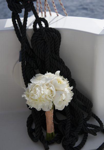Nautical inspired after wedding photoshoot