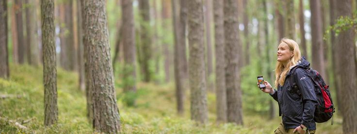 """""""The forests are our 'green gold' and one of the solutions tackling climate change. In today's urbanised world, people seem to have lost contact with the forest. I hope more people realise what forestry can give us today and in the future."""" Ida Bränngård, Forestry Manager, Stora Enso."""