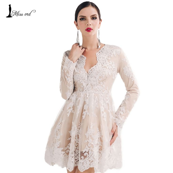 Cheap dress car, Buy Quality dress mia directly from China dresses offers Suppliers: Missord 2016 Sexy Long Sleeve High-necked  dress FT4740USD 31.66/pieceMissord 2016 Sexy tight V-neck long sleeve Drawstr