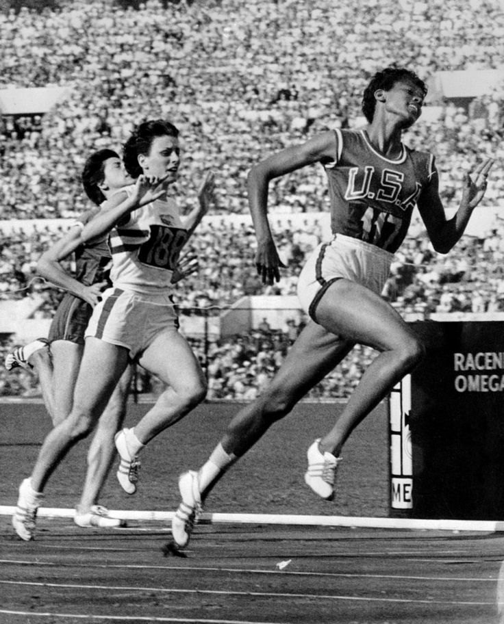 In 1960, Wilma Rudolph became the first American woman to win three track & field medals at a single Olympic Games.