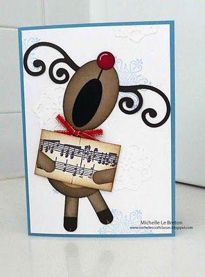 Singing reindeer