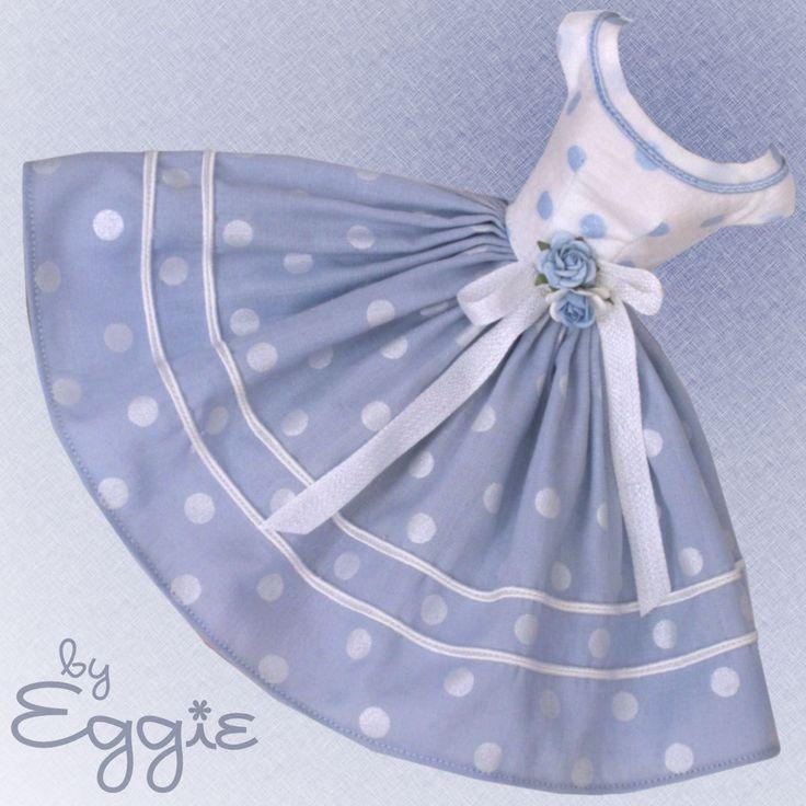 Blue Moon - Vintage Barbie Doll Dress Reproduction Barbie Clothes on eBay http://www.ebay.com/usr/fanfare1901?_trksid=p2047675.l2559