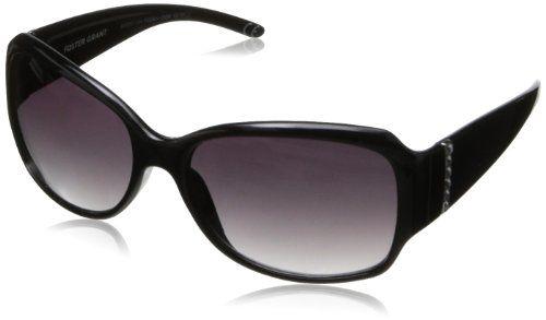 Foster Grant Women's Ravishing Oval Sunglasses,Black,2.5