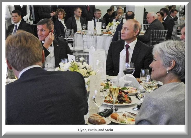 """""""Did Jill Stein Get $40,000 to Party with Putin?"""" 