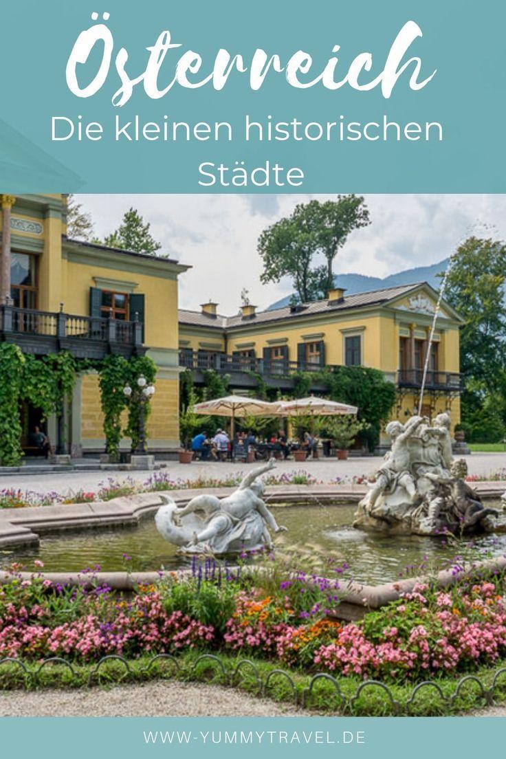 Osterreich Kulinarisch Unterwegs In Bad Ischl Hallein Radstadt Reisen Bad Ischl Urlaub