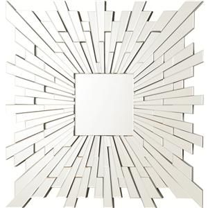 Accent Mirrors Contemporary Frameless Mirror