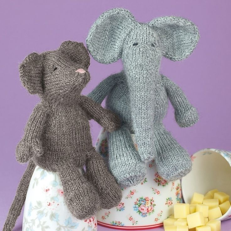 Enchanting Knitted Elephant Free Pattern Pictures - Decke Stricken ...