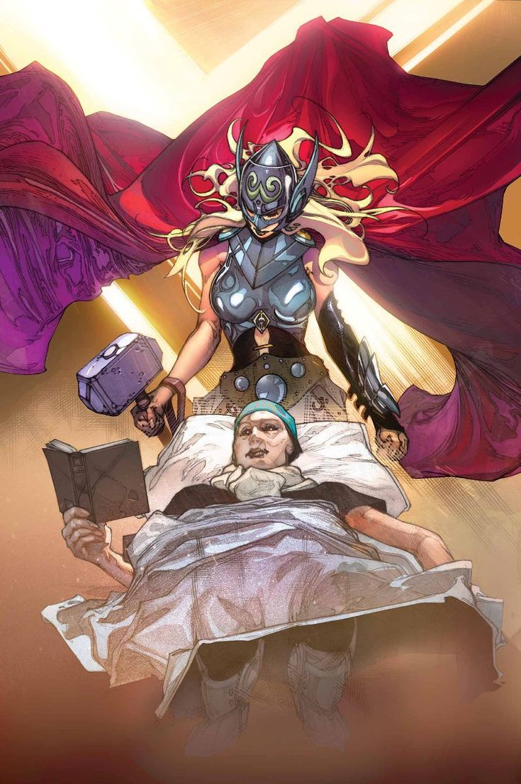 The Mighty Thor #3 variant cover by Simone Bianchi *