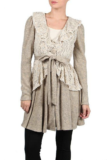 Womens French Farmhouse Jacket At Cassies Closet