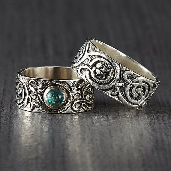 Unisex Band Rings by EnLitho on Etsy, €61.33