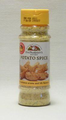 Ina Paarman's delicious potato spice on wedges ...mmmmmmmmmm