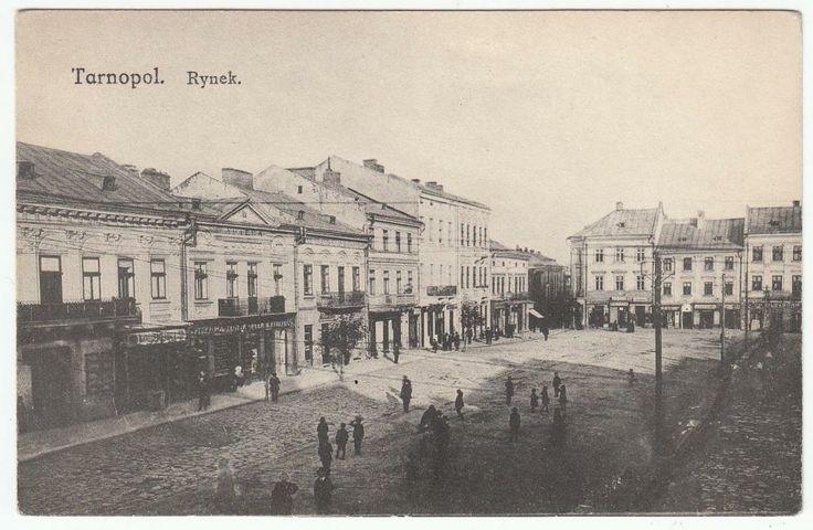 Tarnopol Rynek  1917 r