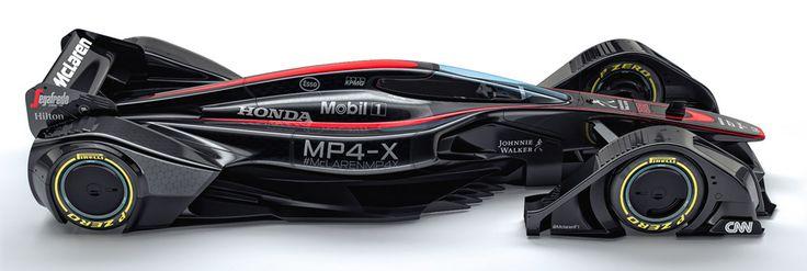 Introducing the McLaren MP4-X Concept Car