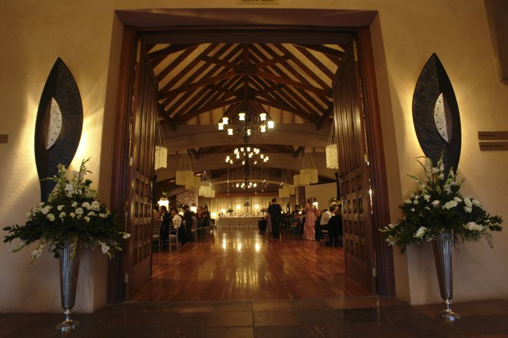 Entrance to Lobola wedding Venue