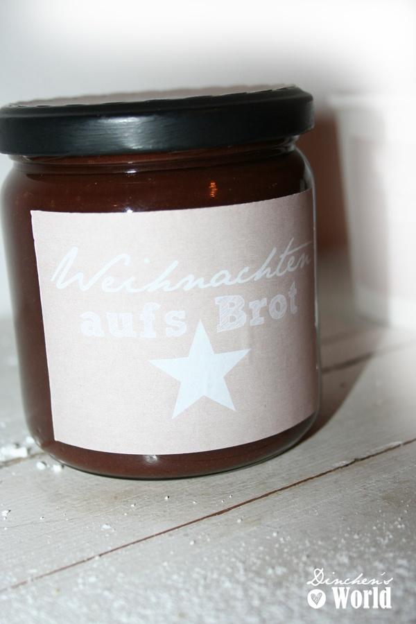 Schokoladen-Spekulatiuscreme