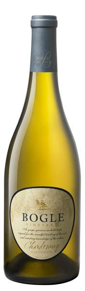 Bogle, the buttery Chardonnay we serve most at our house