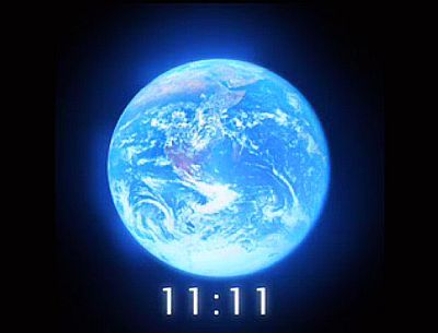 How many of you have had the 11:11 experience: Hands up. Ah, I'm seeing a sea of hands waving out there. In case you have not, let me tell you of my own 11:11 initiations.    Several years ago, I had heard nothing of planetary awakening of consciousness, or The Shift, or the Mayan calendar and other prophesies about December 21, 2012.