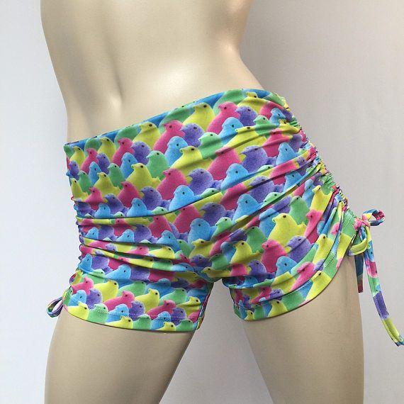 571604c21d Candy Shorts Peeps Hot Yoga Shorts Bikram Pole Fitness Plus Size SXYFITNESS  USA #SXYFitness #Shorts