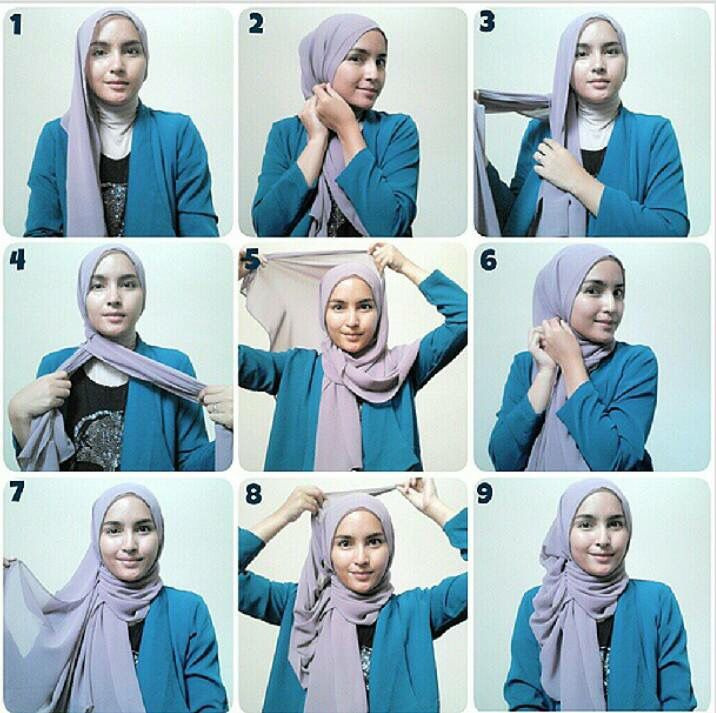 Nice! #stepbystep #hijabtutorial #loveit