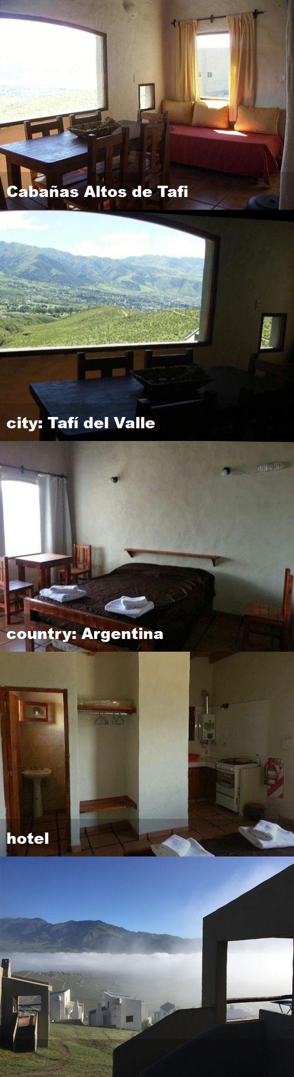 Cabañas Altos de Tafi, city Tafí del Valle, country
