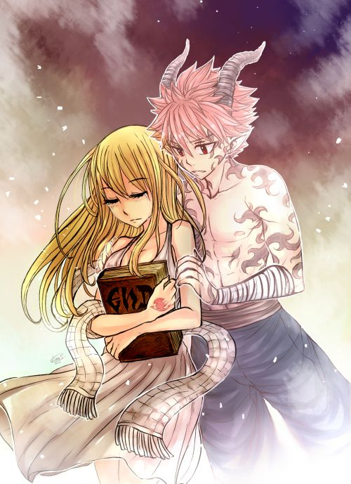 Imagine Natsu as Travis and Lucy as Zane. It works. Perfectly.