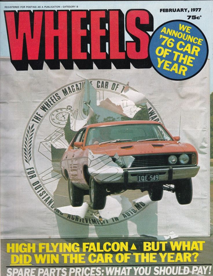 February 1977 Vintage Australian Wheels Magazine 40th Birthday Idea for Him by SuesUpcyclednVintage on Etsy