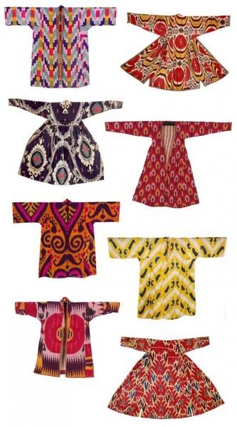 ikat clothing ottoman-textiles