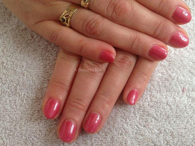 Gellak roze rood  #Gellak #Nagels #nails